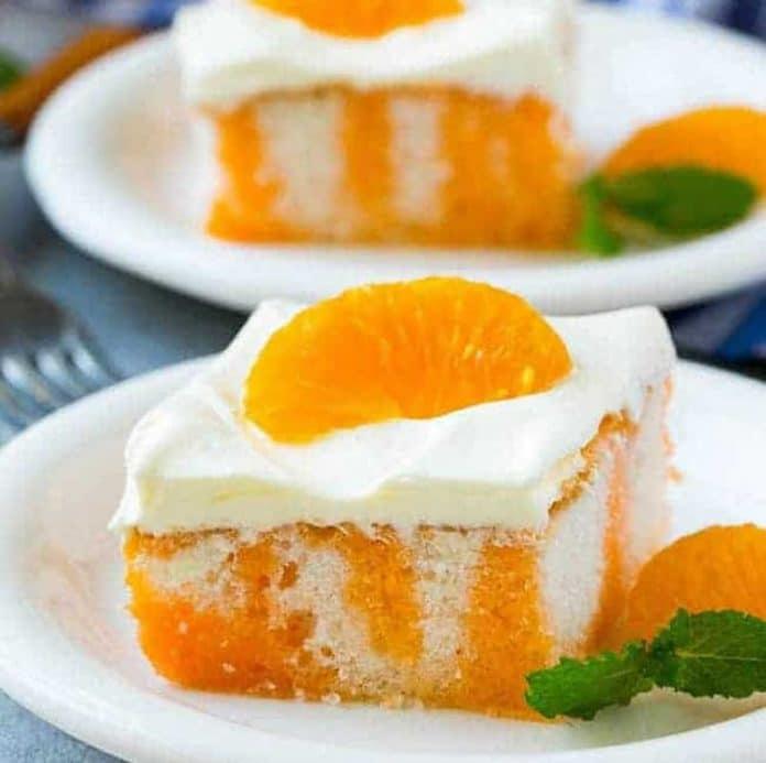 Gâteau au clémentine et crème au thermomix