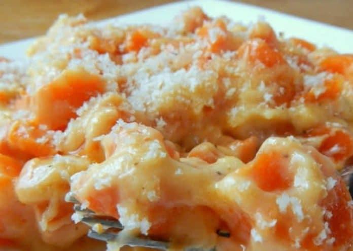 Gratin de carottes au fromage