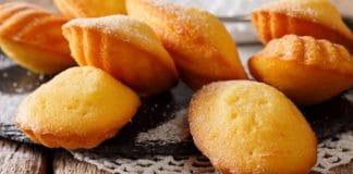 Madeleines au citron et miel au thermomix