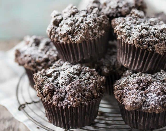 Muffins moelleux au chocolat au thermomix