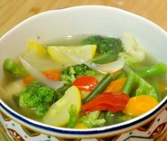 Potage 100 % légumes