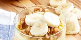 Pudding à la banane