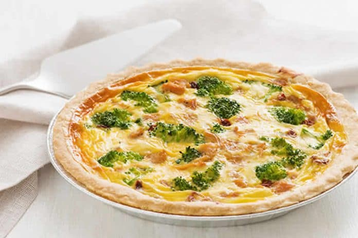 Quiche poulet et brocoli au thermomix