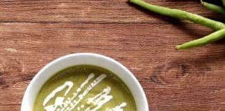 Soupe haricots verts au thermomix