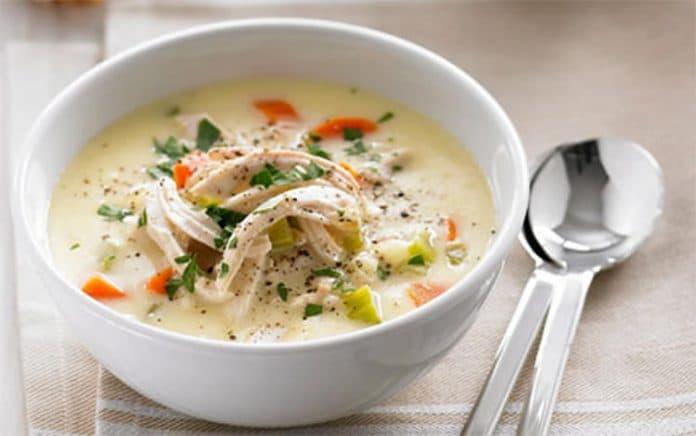 Soupe poulet au thermomix