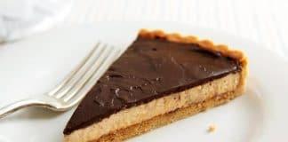 Tarte chocolat et beurre de cacahuètes