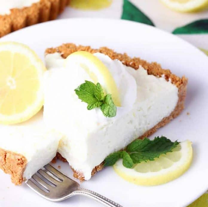Tarte crémeuse au citron