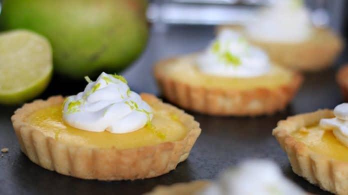 Tartelette citron et mangue au thermomix