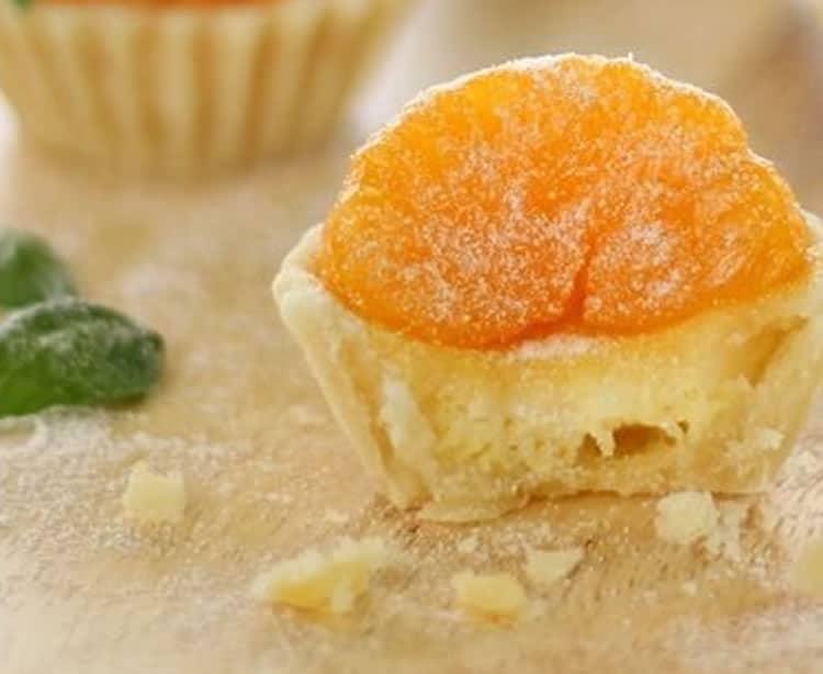 Tartelettes à l'orange et à la clémentine au thermomix 1