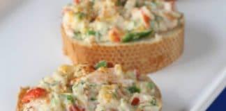 Tartelettes apéritives crabe et crevettes