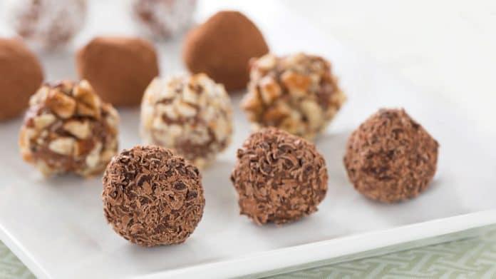 Truffes au chocolat faciles au thermomix