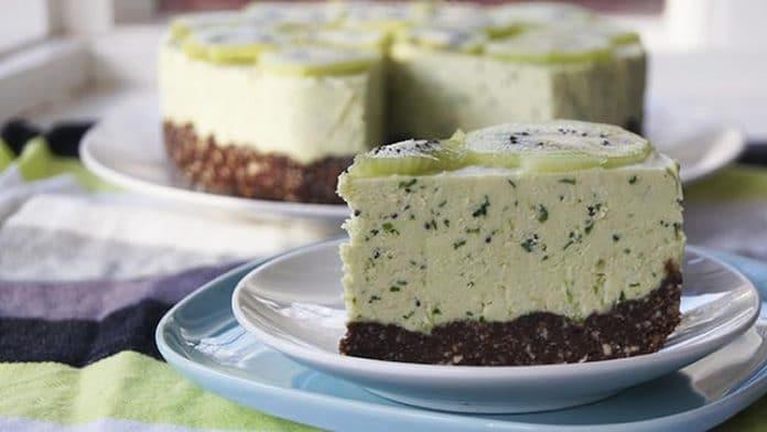 cheesecake kiwi au thermomix