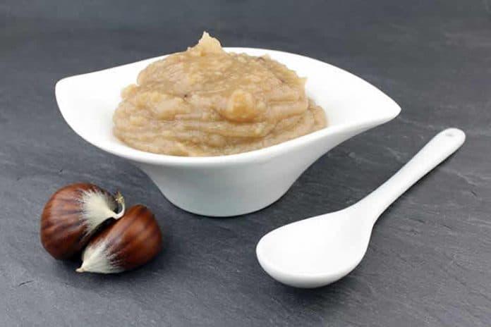 Crème de marrons châtaignes au thermomix