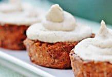 Cupcakes aux carottes et dattes
