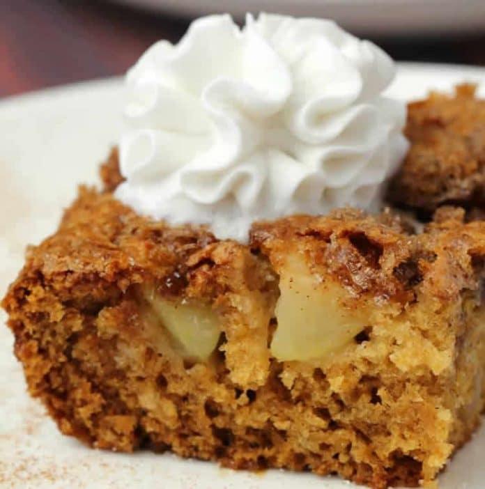 Gâteau à la pomme et crème au thermomix