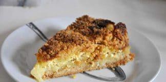 Gâteau aux pommes à la crème