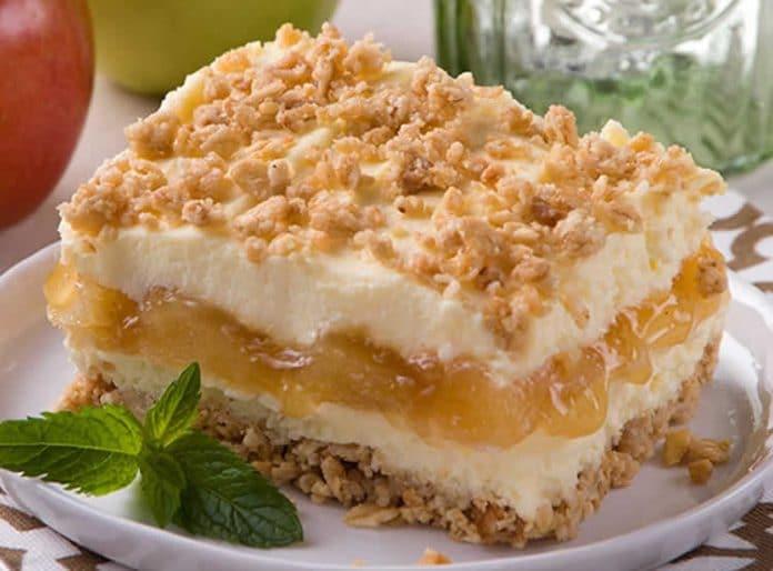 Gâteau pommes sans cuisson au thermomix