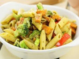 Pâtes aux brocolis et patate au cookeo