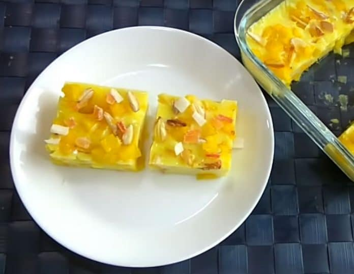 Pudding aux ananas