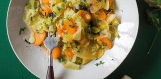 Salade de légumes au cookeo