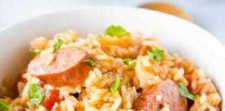Saucisses au riz au cookeo