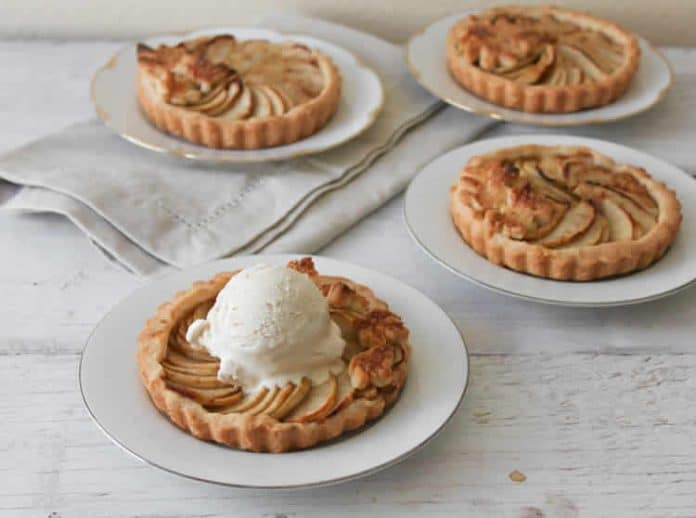 Tartelettes pomme à la cannelle