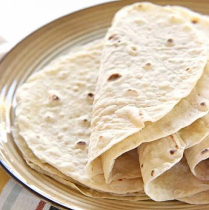 Tortilla à la farine