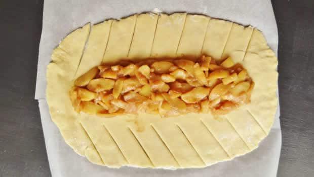 Brioche aux pommes au thermomix 1