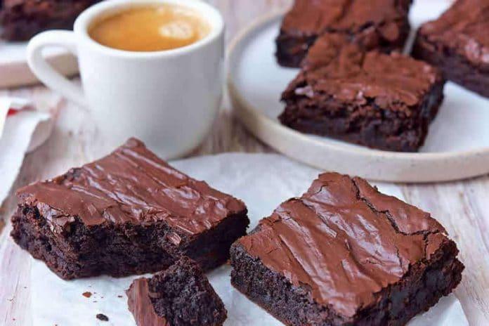 Brownie au chocolat avec ganache au thermomix