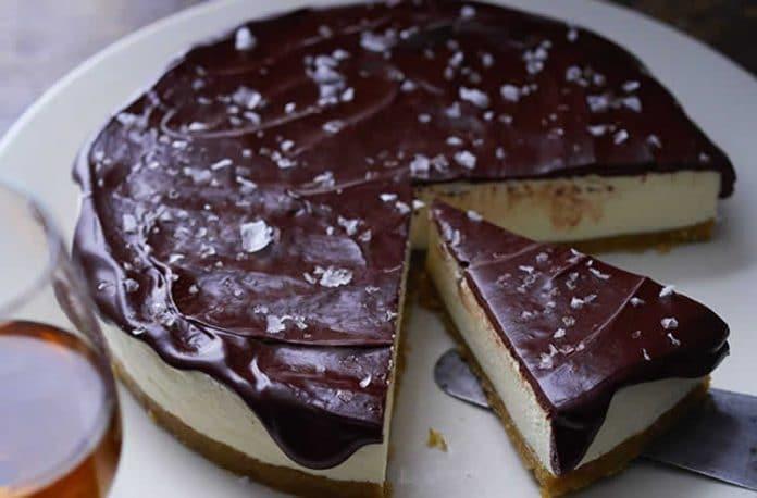 Cheesecake chocolat sans cuisson