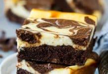 Cheesecake marbré au chocolat au thermomix