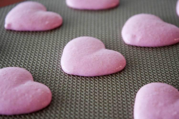 Macarons-coeur au thermomix 1