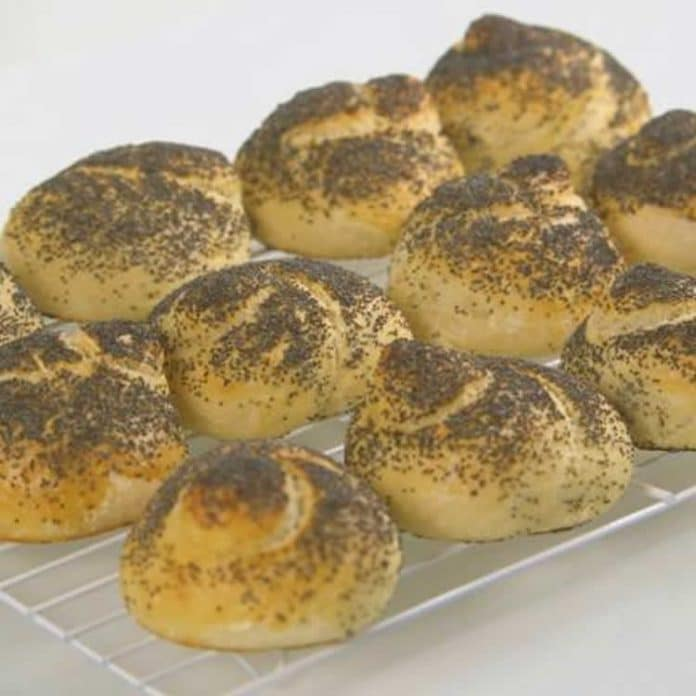 Petits pains au pavot au thermomix