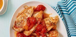Poulet aux tomates cerises au cookeo