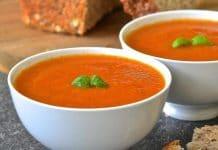 Soupe de tomate crémeuse au thermomix