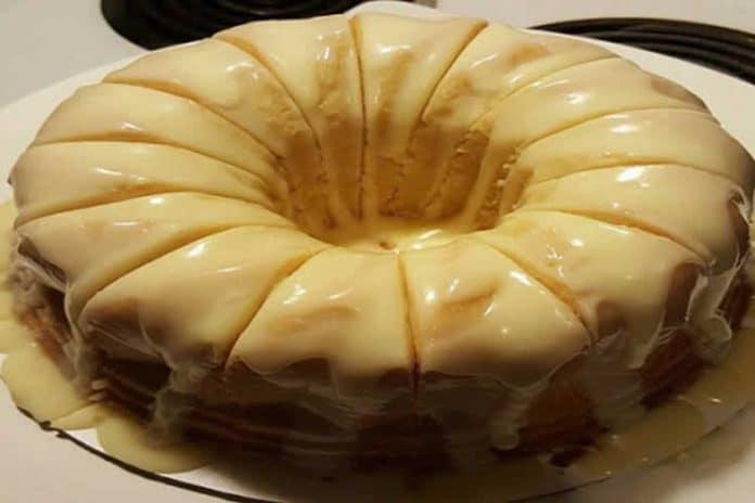 Gâteau magique crèmeux au citron