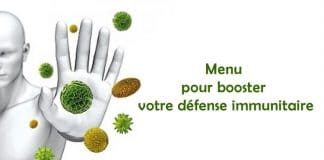 Menu pour booster votre défense immunitaire