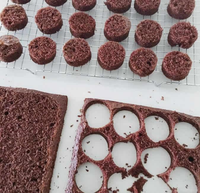 Mini gâteaux chocolat au thermomix 1
