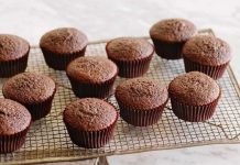 Muffin chocolat sans beurre