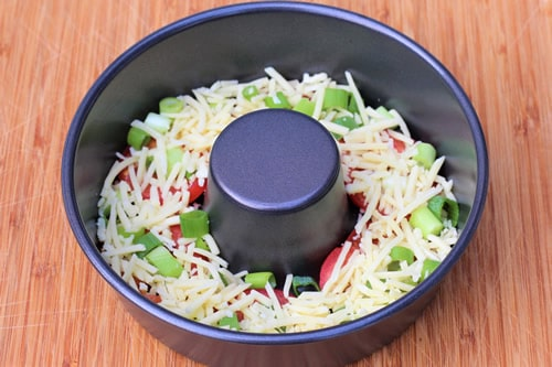 Omelette légumes varoma au thermomix 1