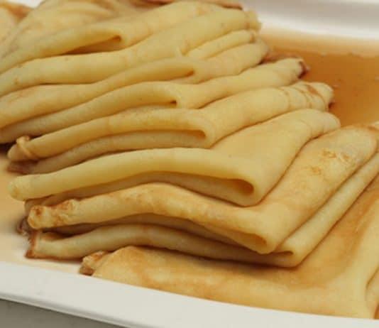 Pâte à crêpe salée facile