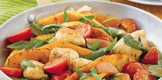 Poulet au butternut et orange