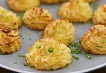 Purée de pommes de terre meringuée