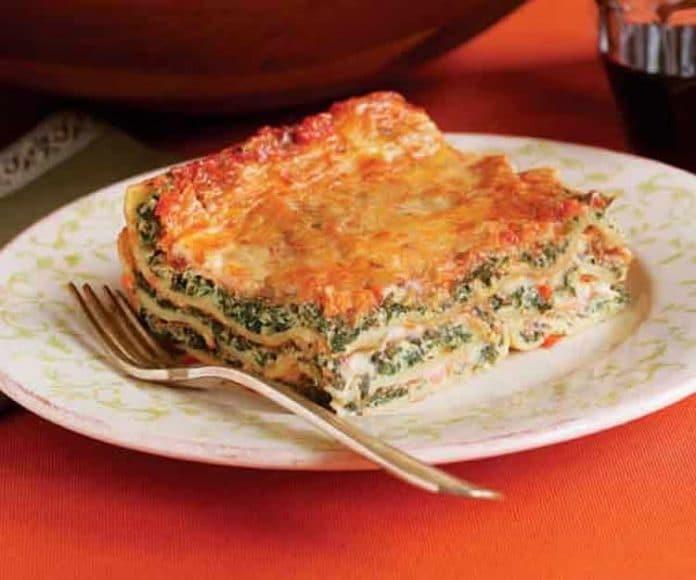 Recette lasagnes aux épinards au thermomix