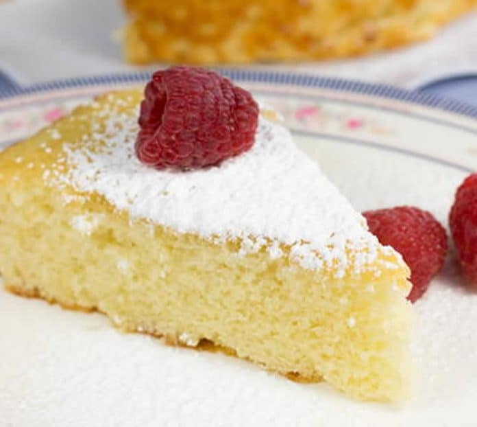 Sponge cake au lait