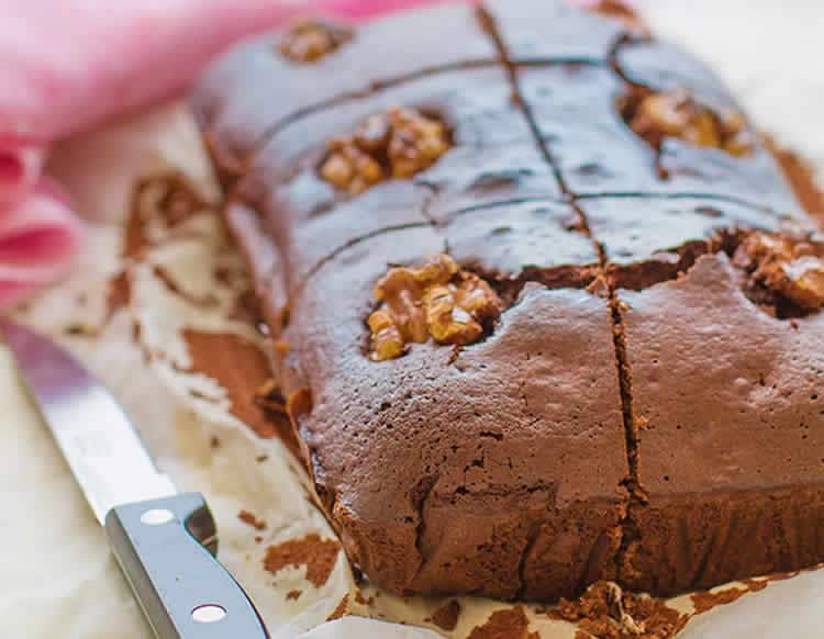 Brownies chocolat aux noix au thermomix 1