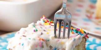 Cake à la vanille et son glaçage