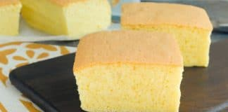 Cake castella Taïwanais