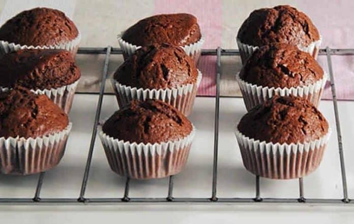 Cupcake moelleux au chocolat au thermomix