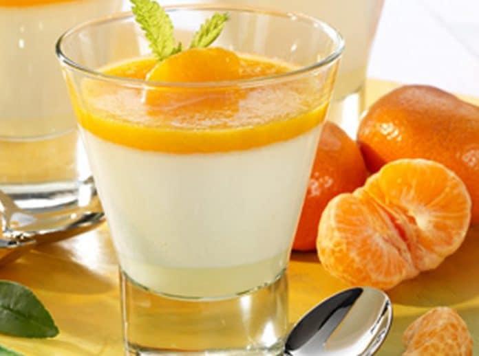 Panacotta aux mandarines au thermomix